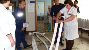 В детской поликлинике №3 прошла противопожарная тренировка